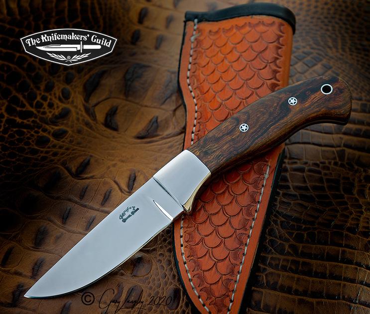 Drop Point Hunter Desert Ironwood $375